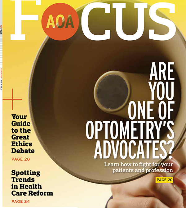 Optometry advocacy