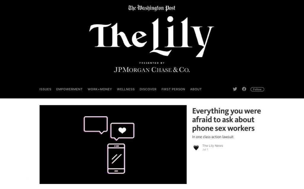 A screenshot from The Lily newsletter by The Washington Post.