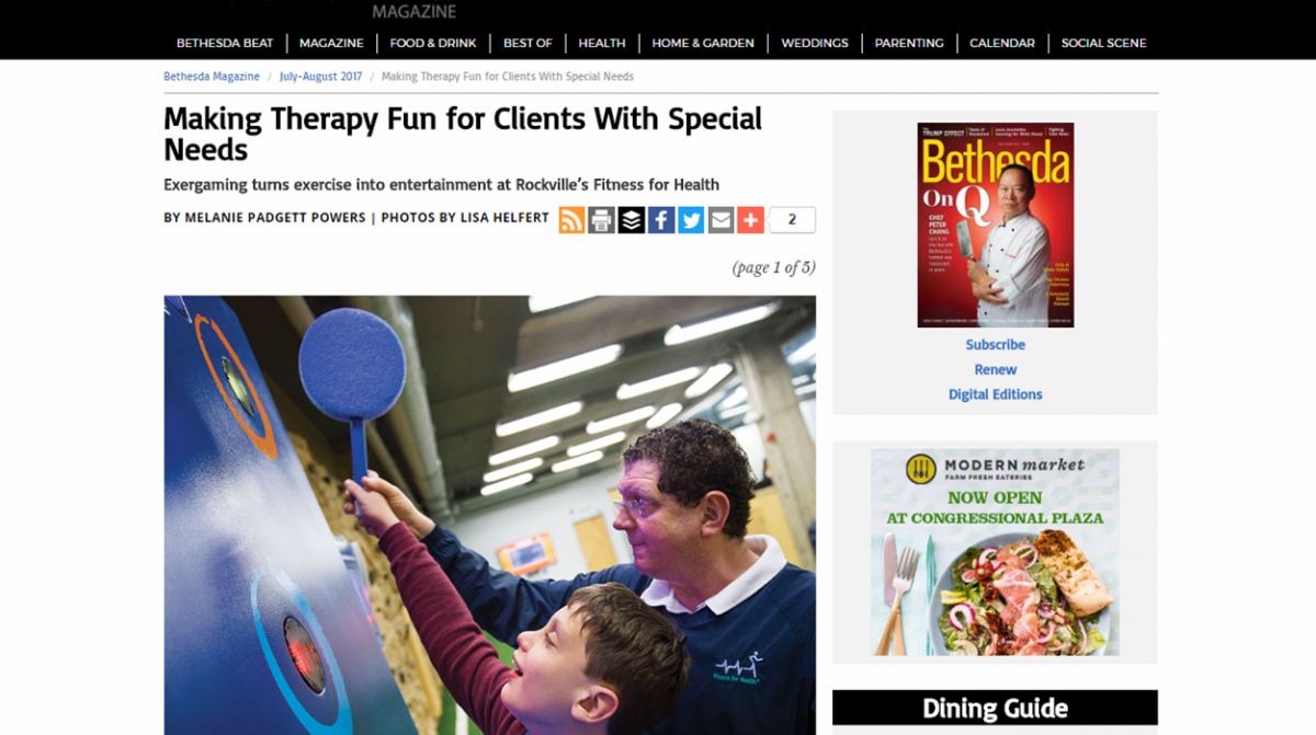 Special Needs gym