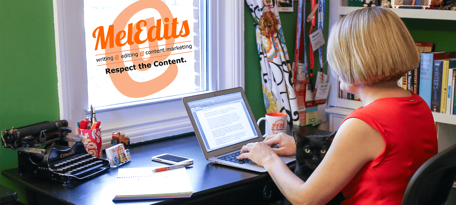 MelEdits Writing, Editing, Content Marketing - Respect the content.