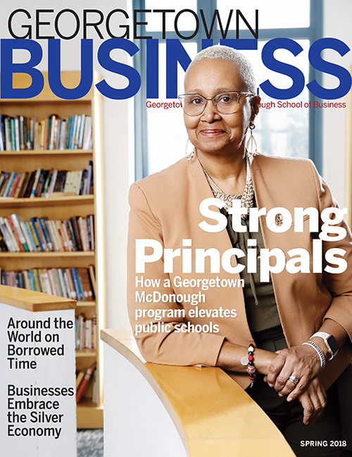 Cover of Spring Georgetown Business Magazine